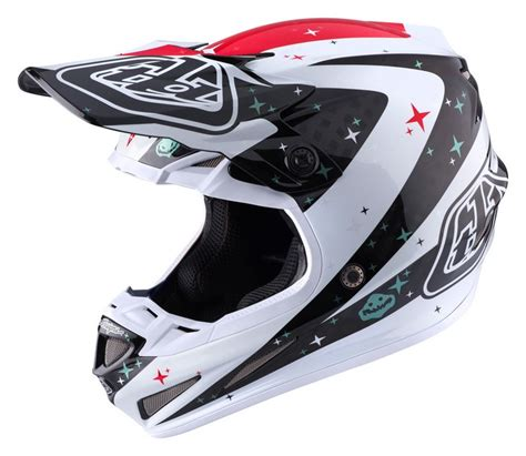 motocross helmet design troy lee designs se4 helmet 2017 twilight white