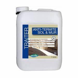 Produit Contre Les Termites : traitement anti termites sols et murs sarpap ~ Melissatoandfro.com Idées de Décoration