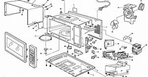 33 Microwave Oven Parts Diagram