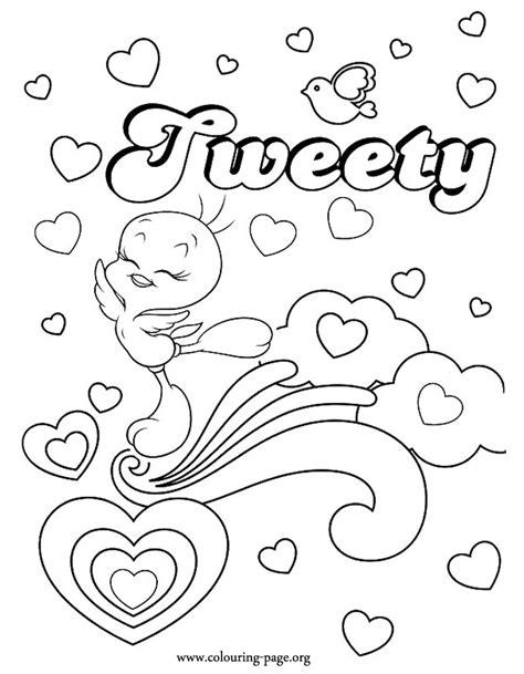 Kleurplaat Tweety by Tweety Coloring Page Coloring Home