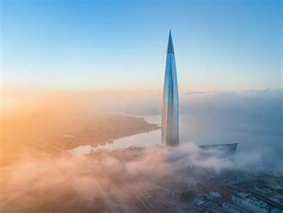 Lakhta Center Petersburg Saint Skyscraper Tallest St