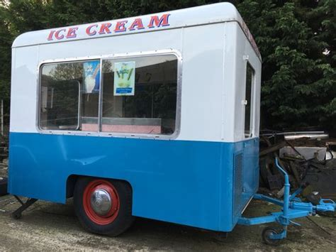 1960 Vintage ice cream van trailer For Sale   Car And Classic