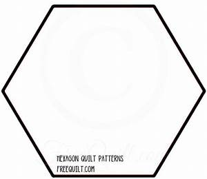 Hexagon quilt patterns to print for Hexagon templates for quilting free