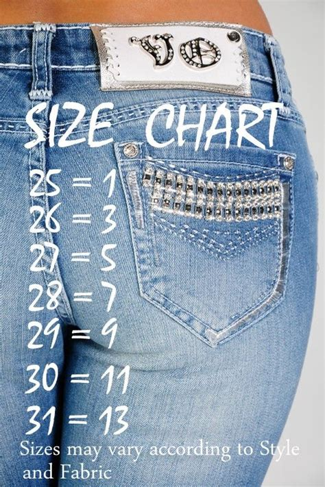 jeans size chart    buy  jeans     clothes