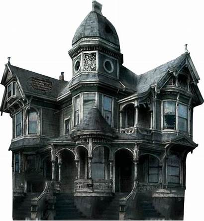 Haunted Transparent Background Mansion Halloween Ghost Spooky