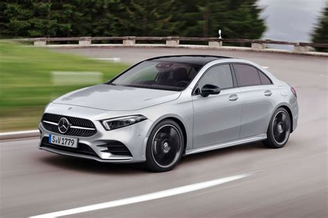 New 2018 Mercedes-Benz A-class saloon revealed | Evo