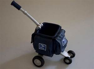 Image gallery mailman cart for Letter carrier cart