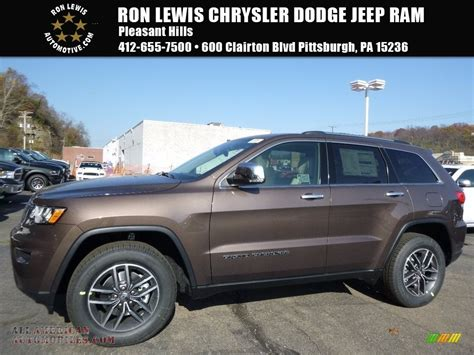 brown jeep grand cherokee 2017 2017 jeep grand cherokee limited 4x4 in walnut brown