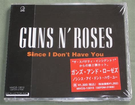 Album Since I Don T Have You By Guns N' Roses On Cdandlp