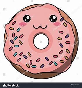 Kawaii Donut PNG Transparent Kawaii Donut.PNG Images ...