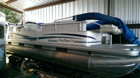 Tracker Boats Pontoon by Sun Tracker 24 Foot Pontoon Boat For Sale From Usa