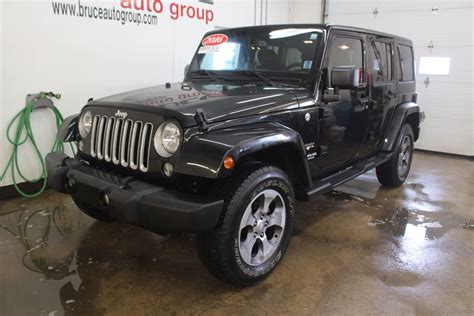 jeep sahara 2016 used 2016 jeep wrangler unlimited sahara 3 6l 6 cyl