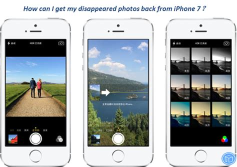 how do i get pictures my iphone how can i get my disappeared photos back from iphone 7