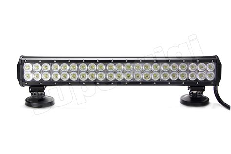 20 quot 126w cree led light bar road work 10500lm atv utv
