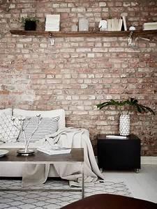 Mur Brique Salon : 1000 id es sur le th me parement brique sur pinterest ~ Zukunftsfamilie.com Idées de Décoration