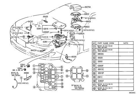 lexus is300 drawing lexus is300 coil wiring diagram wiring diagram
