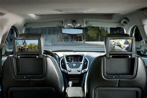 rear seat dvd entertainment system    gmc terrain