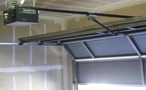 garage door opener learn 4 basic steps of installing a garage door opener a