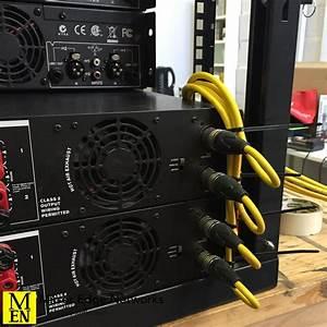 Restaurant Audio System Amplifier Rack  Audio Signal