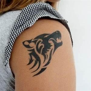 Tatouage Loup Celtique : tatouage loup tribal tatouage loup sur ~ Farleysfitness.com Idées de Décoration