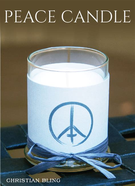 Glass Candle Holders Wrapped Sandwich Paper Raffia Ribbons by Peace Candle Zaring Browning