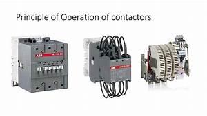 Contactor - Principle Of Operation