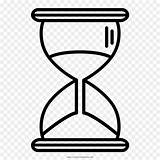 Hourglass Drawing Clock Reloj Coloring Arena Line Preview sketch template