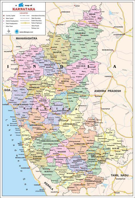 tourist map  karnataka  travel itineraries