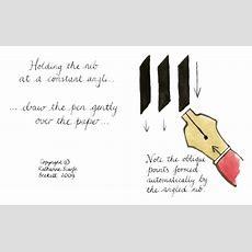 How To Write Calligraphy  Core Skills