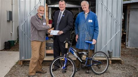 menz shed menz shed bike initiative set to help more families get on
