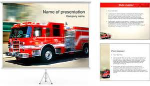 Fire Truck PowerPoint Template