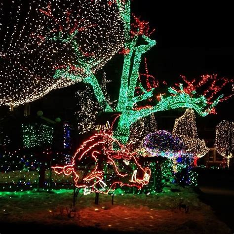 visit the fayetteville square to see the awesome christmas