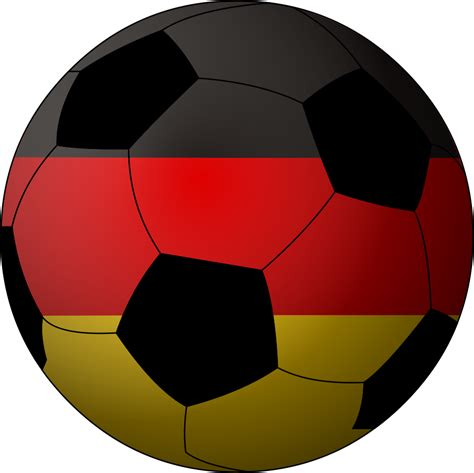 The german flag features a simple tricolour with three horizontal stripes. File:Football Germany.png - Wikipedia