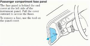 2005 Ford Explorer Fuse Panel