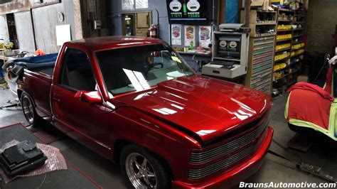 supercharged chevrolet pickup dyno run youtube