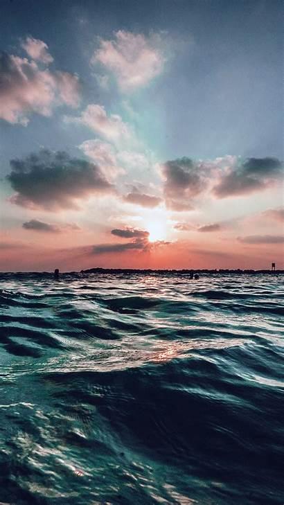 Ocean Sea Sky Sunset Nature Summer Water