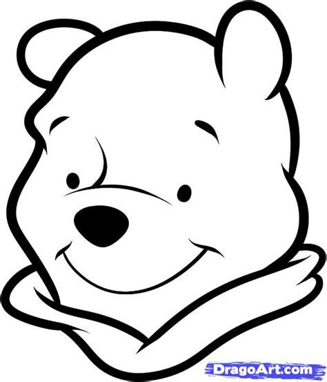 draw winnie  pooh easy step  step disney