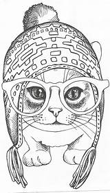 Coloring Mandala Mandalas Cats Adult Printable Animal Desenhos Colorir Colorear Ausmalbilder Colouring Dessin Imprimir Sheets Malvorlagen Coloriage Tiere Pintar Animais sketch template