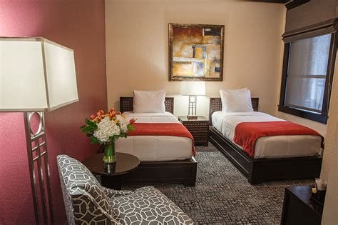bedrooms with two beds double twin beds hotel fusion
