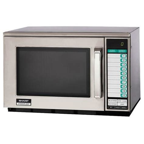 Sharp Microwave Ovens Countertop by Sharp R 22gtf 1200 Watt Commercial Microwave Oven