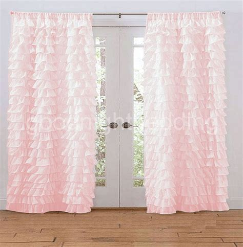 pink curtains for bedroom contemporary bedroom design with pink ruffled curtains on 16737