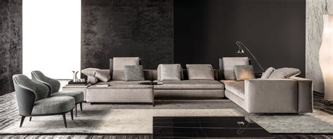 canapé cuir natuzzi yang modular sofa systems from minotti architonic