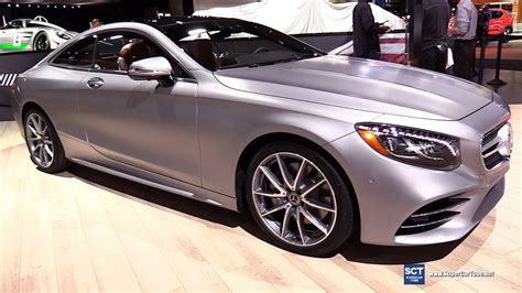 2018 Mercedes Benz S Class S560 Coupe  Exterior And