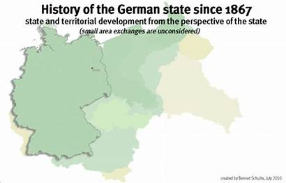 1867 Germany Territorial German Evolution Map History