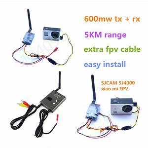 5km Original Rc Fpv 5 8ghz 600mw 32 Channels Wireless A  V