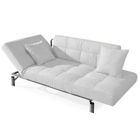 canap lit 1 personne convertible design monaco blanc canapé lit 1 achat