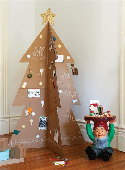 How To Make A Modern Cardboard Christmas Tree Chatelaine