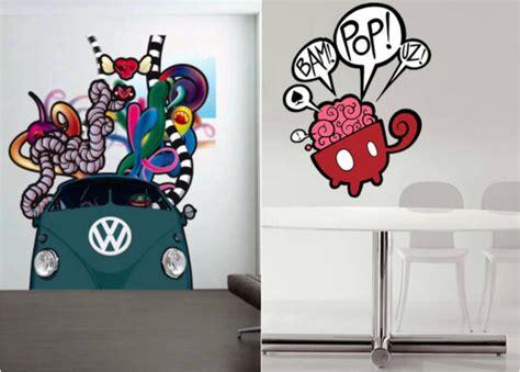 chambre à coucher garçon 42 stickers muraux graffiti pour la chambre ado extraordinaire