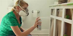 How to Repair and Paint Plastic Coated Melamine Cabinets