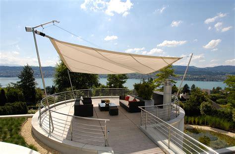 Terrasse Mit Sonnensegel by Sonnensegel In Edlem Design F 252 R Terrasse Und Garten